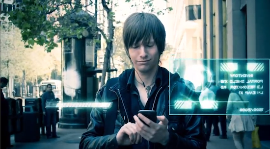 A guy who plays ingress